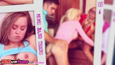 Moms Bang Teens - Mom teaches