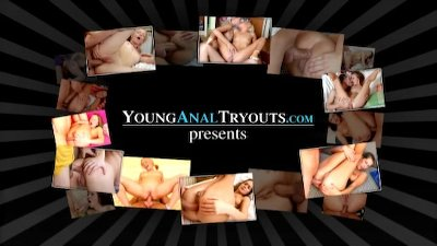 Young Anal Tryouts - Two aren't playing hide and seek in the woods