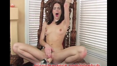 Riley Shy Takes A Fucking Machine Deep