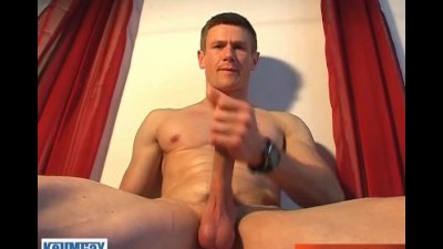 Gym trainer get wanked his hard cock in site of him by a guy ! wooow !!!