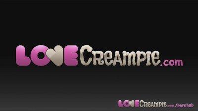 Love Creampie Gorgeous teen le
