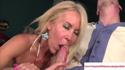 Erica Lauren mature sprayed with cum