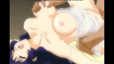 sweet hentai bitch satisfying blackmailer's rod