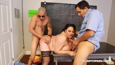 Slut Big Tit Student Julia Sands Doubled Teamed by Teachers