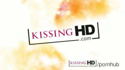 Kissing HD First time lesbian