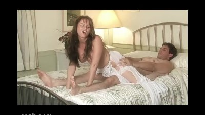 Romantic sex between two genuine lovers