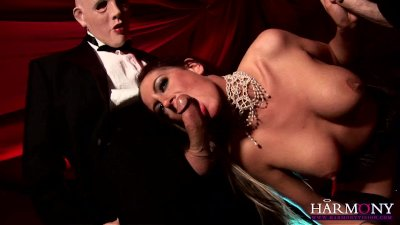 Blowjob Handjob Cumshot video: HARMONY VISION Happy Analloween