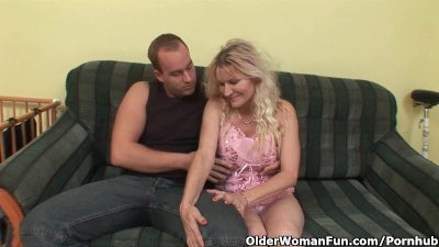 Older Mom With Big Tits And Ha