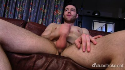 Handsome Straight Guy Tommy Masturbating