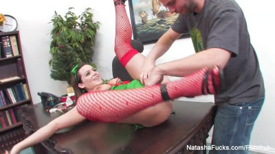 Natasha Nice Xmas Fuck in the
