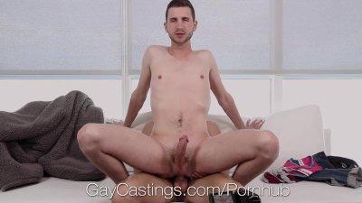 Casting Agent Fucks John Daring in Porn Audition