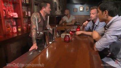 Creepy Bartender Brutally Punished