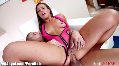 EvilAngel Kelsi Monroe Anal Riding Big Cock