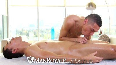 Martin Penn and Noel Rios Fuck Hard After a Work Out