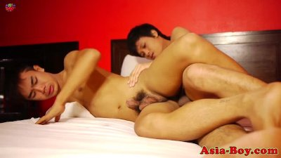 Asian bareback assfucking amateur after bj