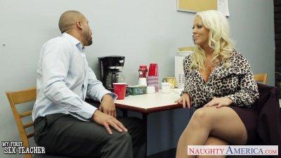 Hot sex teacher Alura Jenson f