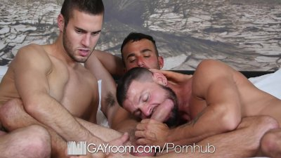 GayRoom - Hot Threesome with Alex, Tex and Austin