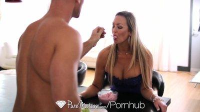 HD PureMature - Hot busty MILF