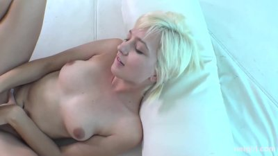 Netgirl - Eliza returns takes 2 cocks and loves it