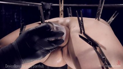 Big Tittied Device Torture