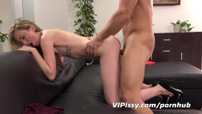 Piss fuck fun for gorgeous blonde European babe
