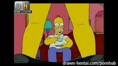 Simpsons Porn - Threesome