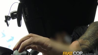 Fake Cop Anal sex in the Barn