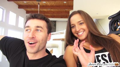 BTS of I Came on James Deen's Face 3 part 1