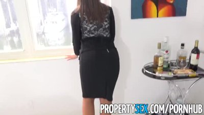 Hardcore Blowjob xxx: PropertySex - Captain of big boat bangs real estate agent at condo showing