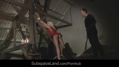 Busty slave submitted to bruta