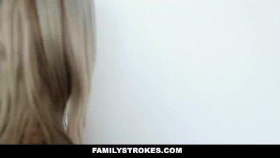 FamilyStrokes - Dad Creeps On